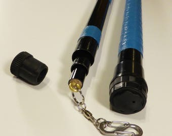 Custom telescoping bubbling pole set, 8, 10 or 12 foot