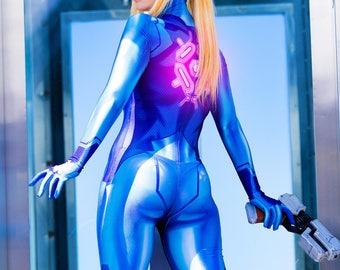 Zero Suit Samus - print