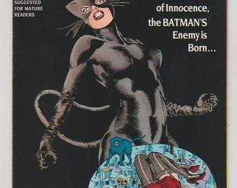 Catwoman; Vol 1, 1 Copper Age Comic Book.  VF/NM. February 1989.  DC Comics