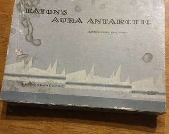 Easton's Aura Antarctic Parchment Paper Box from 1897 to 1917 . . .