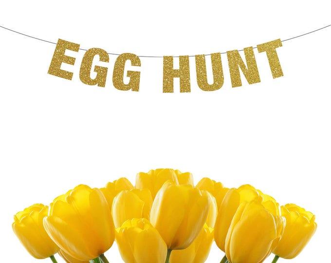 Egg Hunt Banner, Easter Decorations, Easter Banner, Egg Hunt Sign, Easter Decor, Easter Photo Prop, easter photography backdrop
