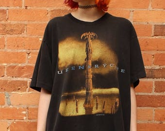 Queensryche Promised Land 1995 Tour Vintage T-Shirt