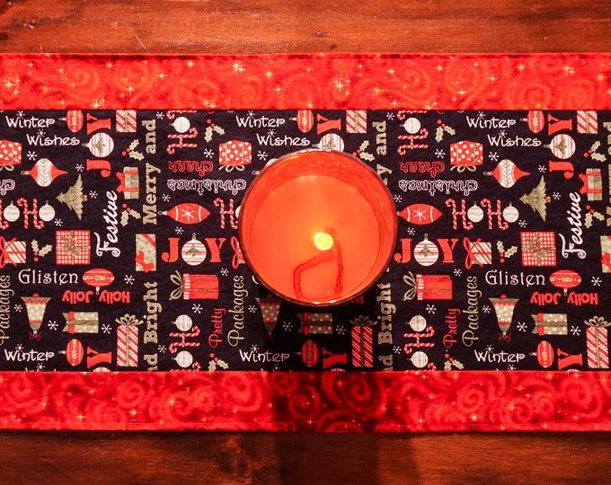 Farmhouse Christmas Decor-Christmas Table Runner-Christmas Decorations-Holiday Decor-Modern Christmas Decor-Xmas Decor-Christmas Gift