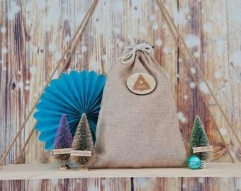 Personalised Christmas stocking - Christmas sack - customised