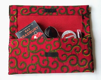 Red African Clutch