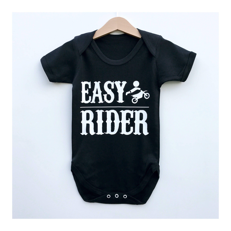 Hells Angels Baby Bodysuit Easy Rider Baby Biker Onesie Baby