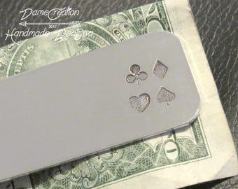Casino Money Clip, Casino Theme Gift, Poker Wedding Gifts, Poker Money Clip, Poker Player Gifts for Men