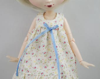 ElDollRado - summer flower dress for Blythe and Pullip