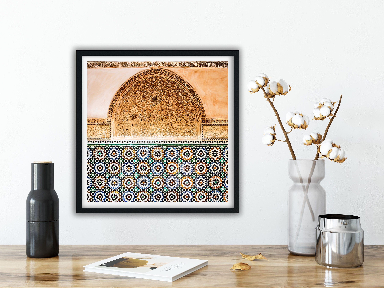 Photographie fine art architecture marocaine zellige for Architecture marocaine