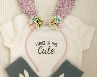 Bunny Ears Headband | Rabbit Ears Headband | Easter Ears | Easter Outfit | Halloween