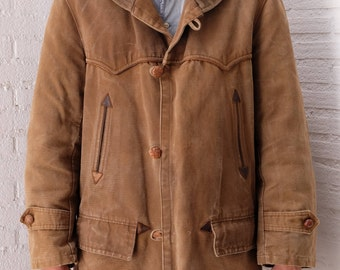 1940'S Pilot or Driver's French Canadienne Coat