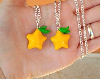 Paopu Fruit Necklace Kingdom Hearts Kawaii Gamer