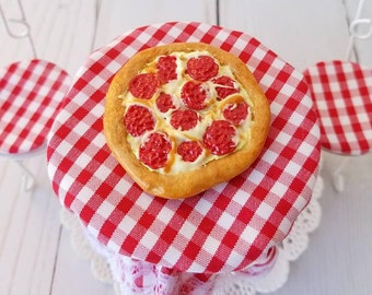 Miniature Food, Miniature Pizza, Polymer Food, Dollhouse Food, Dollhouse Miniatures, Mini food, Dolls Food, Pizza, Miniatures, Fake Food