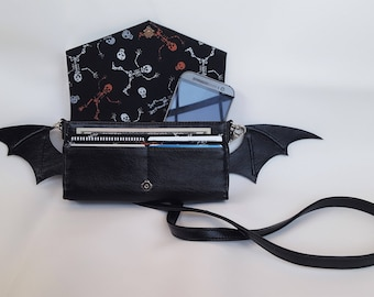 Gothic Lolita Bat Purse Wallet