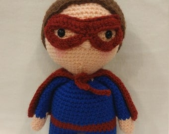 "Crochet Superhero Doll-""Kal"""
