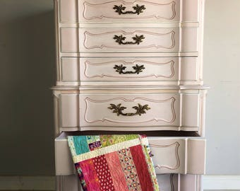 Painted Furniture   Nursery   Babys Room   French Style   Painted Dresser    Chalk Painted