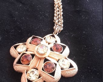 Vintage Sarah Coventry Necklace and Pendant
