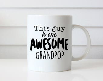 New Grandpa Mug, New Grandpa, Grandpa Mug, Grandpa Gift, Coffee Mug, Pregnancy Reveal, Grandpa Coffee Mug, New Grandpa Gift, Grandpa To Be