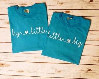 Big Little Shirts/Big Little Comfort Color Shirts/Big Little Reveal/Sorority Shirts/Big Little Sorority Shirts/Big Little Gifts/Pledge Gifts