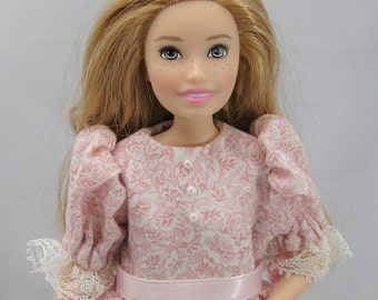 "Barbie Skipper / Modern 10"" Skipper Pink Princess Dress"