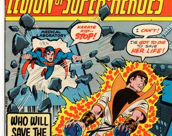 Superboy Comic Book #209 DC Comics 1975 VG-F Karate Kid