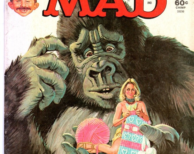 MAD Magazine #192 July 1977 King Kong Movie Cover