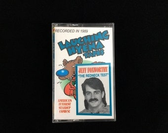 Cassette Tape - Jeff Foxworthy - The Redneck Test - Standup Comedy