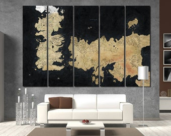 Game Of Thrones Map Game Of Thrones Art seven kingdoms map ice and fire stark Game of Thrones Old westeros map Jon Snow Ned Stark Lannister