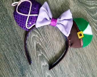 Rapunzel and Flynn Inspired Mickey Ears