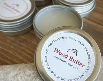 Wood Butter Rub, Wood Conditioner, Cutting Board Conditioner, Wood Spoon Conditioner, Cutting Board Rub, Butcher Block Conditioner Rub