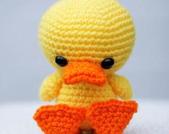 Duck Stuffed Animal | Spring Stuffed Animal | Spring Duck | Crocheted Duck | Handmade Duck | READY TO SHIP