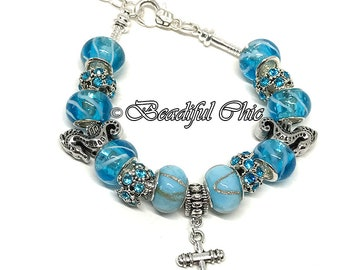 Bottom of the Sea European Style Charm Bracelet