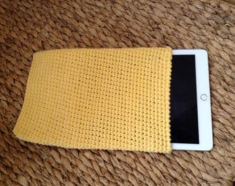 Ipad cover crocheted handmade, Ipad Housse, Cover tablet, E-reader cozy