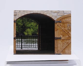 Boxed Blank Notecards: Eagle House on the Mississippi River Boxed Set of 6