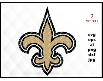 New Orleans Saints Cut Files, New Orleans Saints SVG Files, New Orleans Saints SVG Cutting Files, Saints Cuttable SVG File, Instant Download