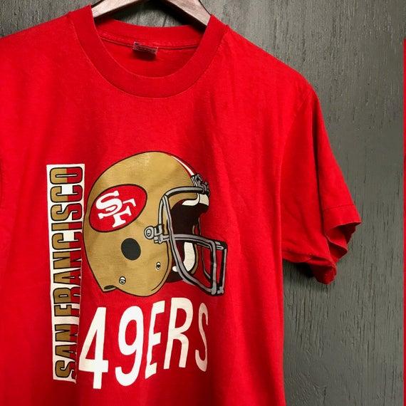 80s San Francisco 49ers T Shirt 7kPZw71D