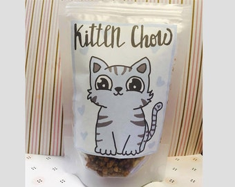Pet Play Kitten/Puppy Resealable Food Pouch