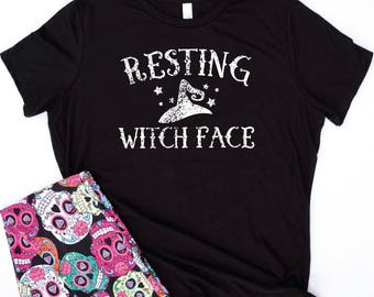 resting witch face shirt,resting witch face shirts,resting witch face tshirt,resting witch face tshirts,halloween shirt,funny halloween