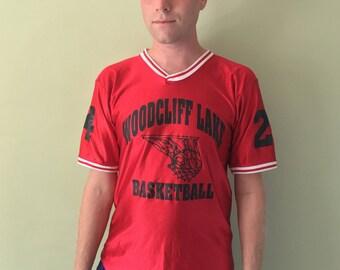 Woodcliff Lake Vintage Basketball Jersey
