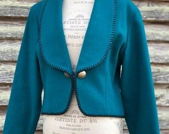 vintage western inspired blazer | womens medium