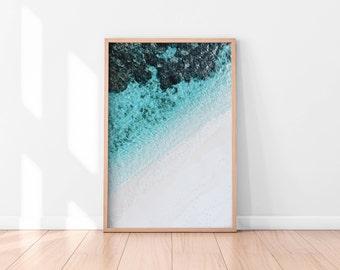 Ocean Wall Art, Beach Wall Art Printable, Ocean Wall Decor, Beach Printable Art, Ocean Printable Poster, Digital Print, Digital Download,