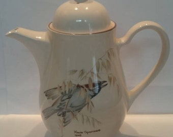 Noritake The Country Diary of a Edwardian Lady Large Coffee Pot