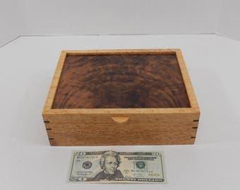 Wooden box, Jewelry Box, Keepsake box
