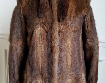 Real fur late 70's