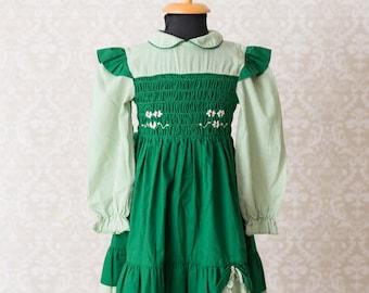Polly Flinders Hand Smocked Girls Dress