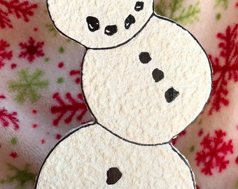 Snowman Winter Holiday Paper Towel Holder