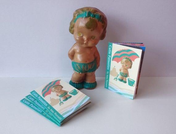 Mini Zine Cutie Patooties, Mini Book