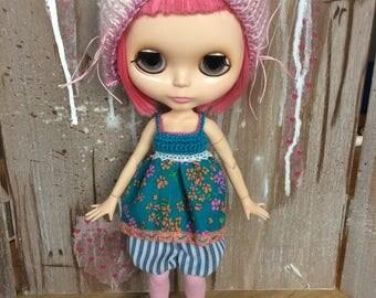 Blythe dress and shorts set