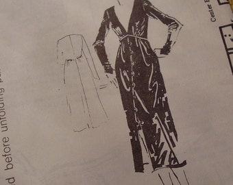 SALE Vintage 1970's Spadea 73310 Shannon Rodgers for Jerry Silverman Dress Sewing Pattern, Size 14, Bust 36