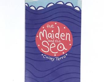 The Maiden and the Sea Comic Illustration Zine, Horror Comic, Fairytale, Folktale